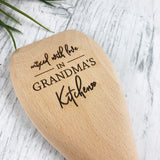 Mixed With Love Personalised Wooden Spoon