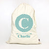 Monogram Storage Bag (teal)