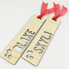 Name Bookmark (2 designs available)