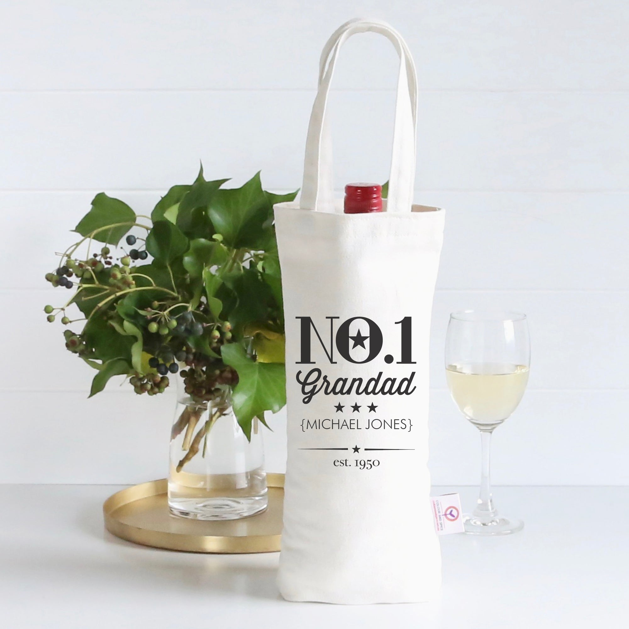 No. 1 Wine Bag