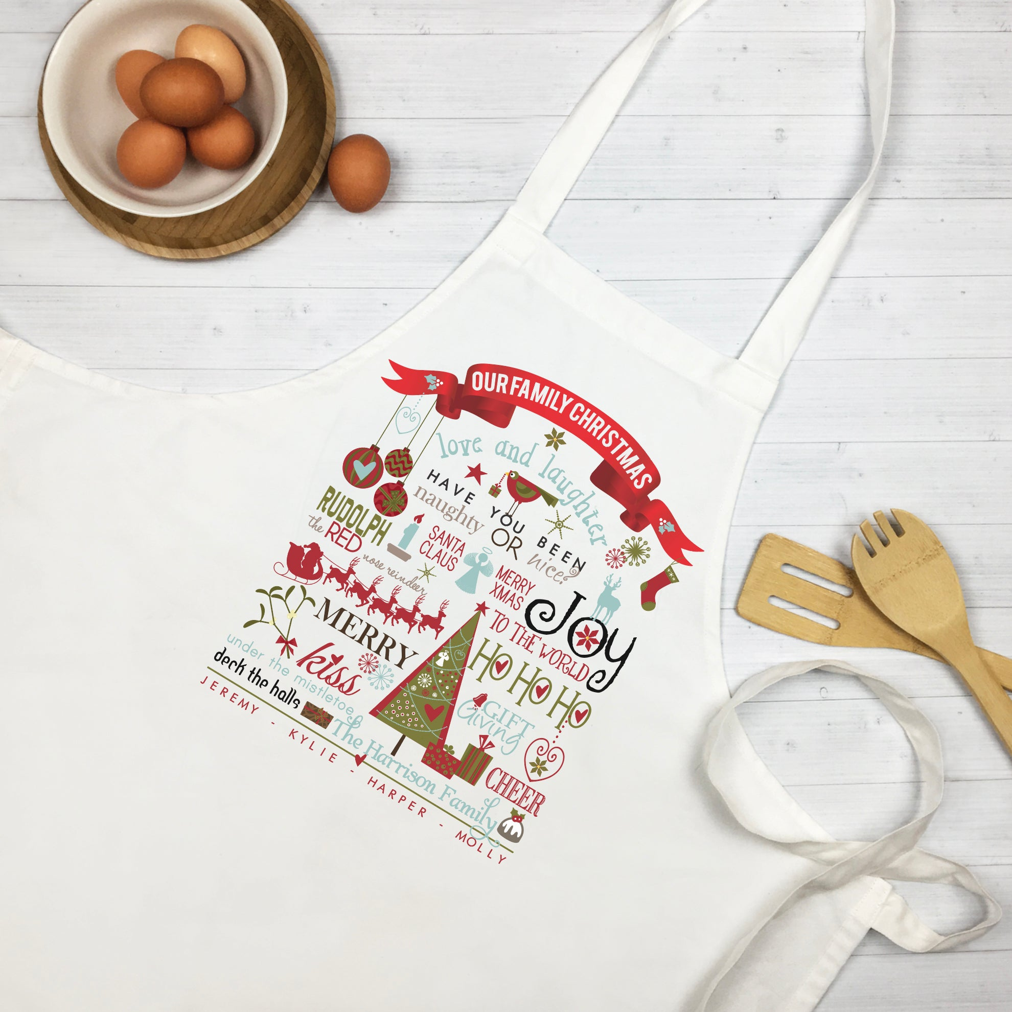 Our Family Christmas Apron