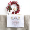 Peace Joy Love Christmas Table Runner