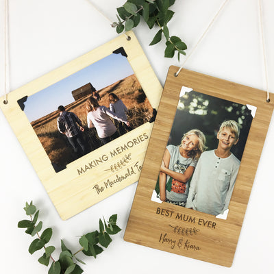 Personalised Portrait Photo Wall Hanging