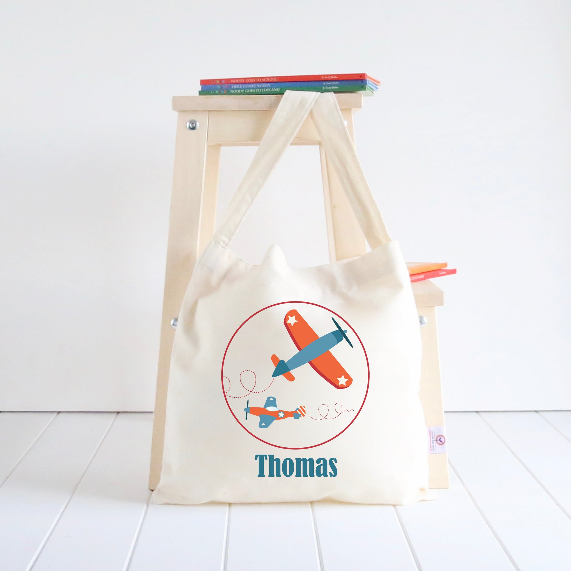 Planes Library Bag