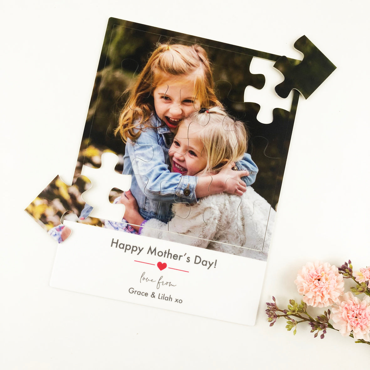 Personalised Photo Jigsaw Puzzle - Acrylic