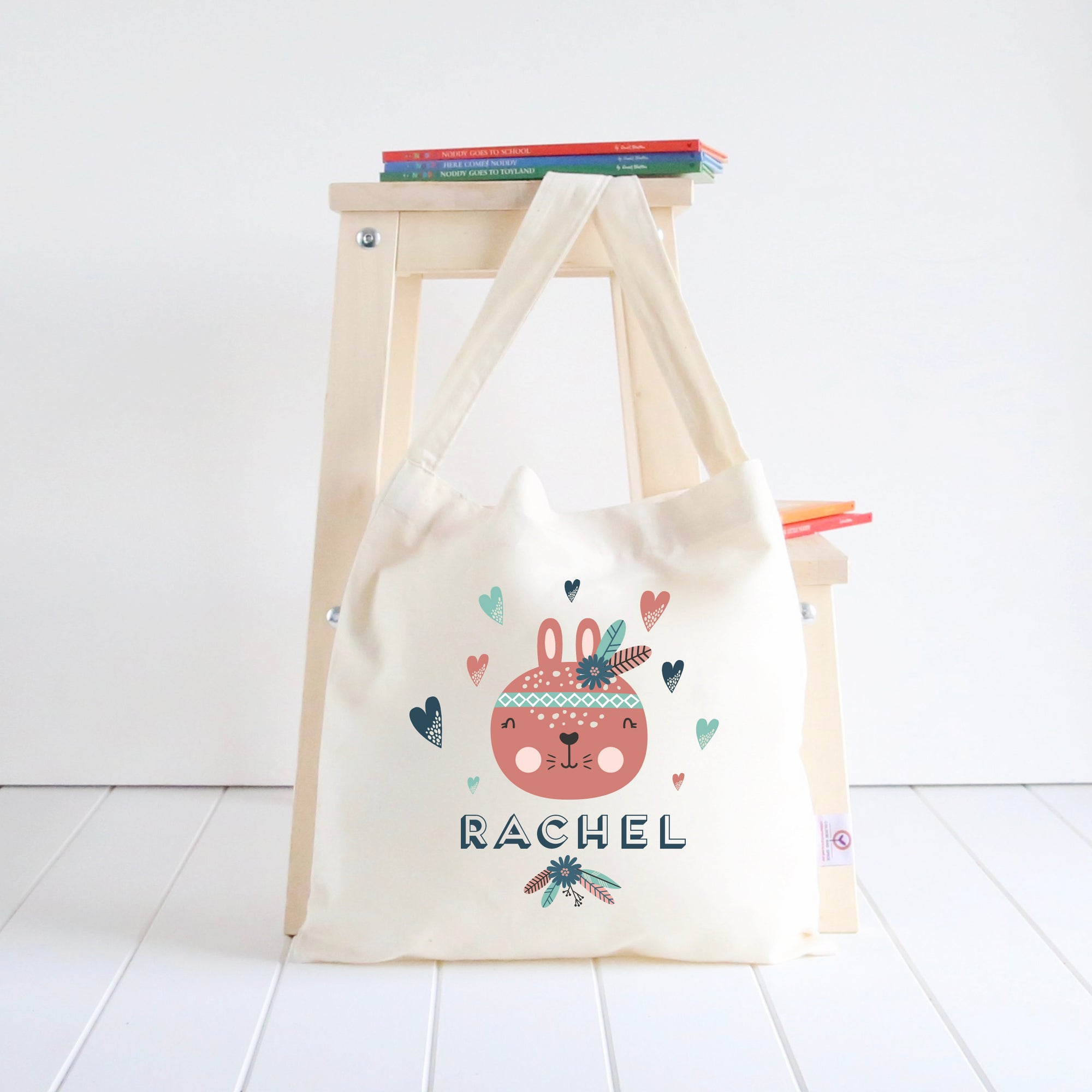 Rabbit Library Bag