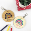 Rainbow Girls Personalised Bag Tag