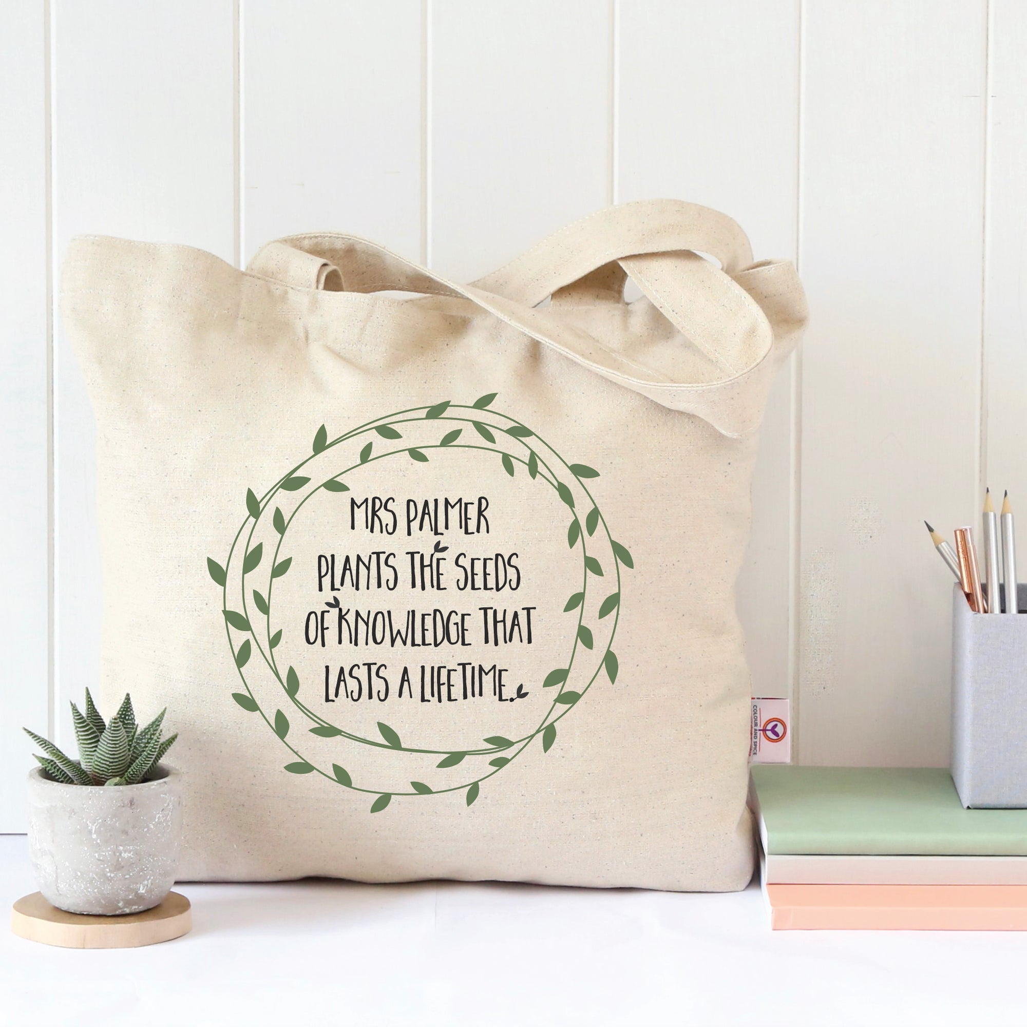 Seeds Of Knowledge Tote Bag
