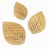 Round Leaves - set of 3
