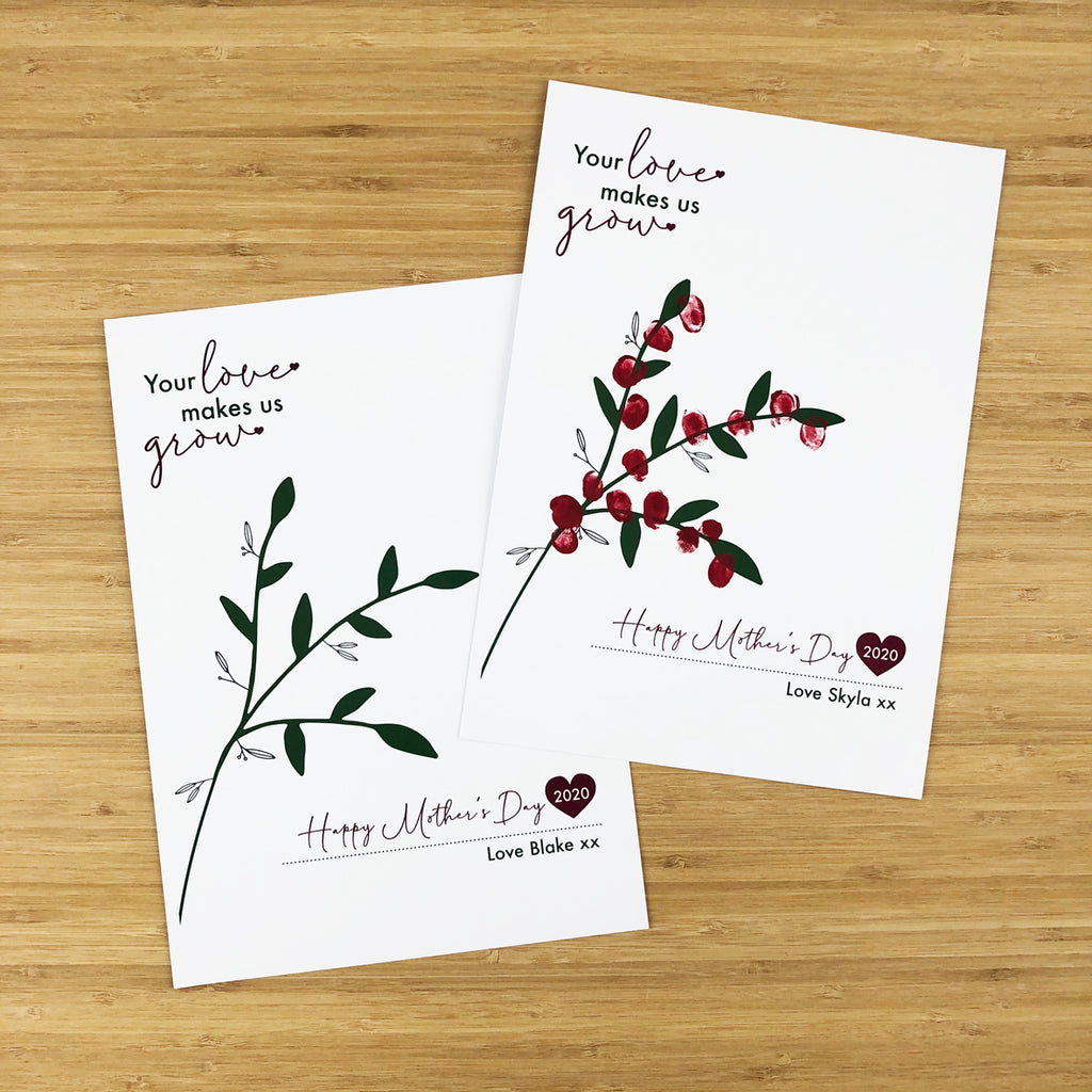 Your Love Makes Us Grow Finger - Downloadable File