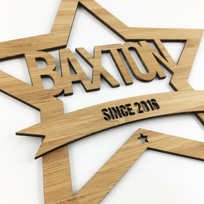 Star Name Wall Hanging
