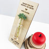 Personalised Teacher Test Tube Stand