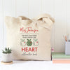 The Heart Teacher Tote Bag