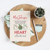 The Heart Notebook & Reusable Cover