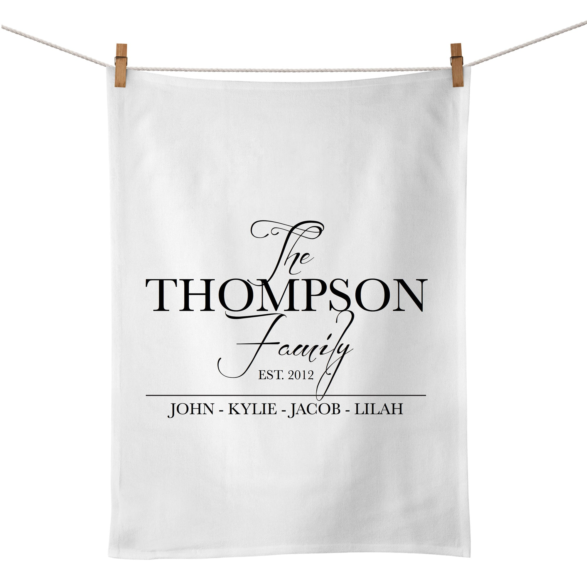The Family Tea Towel