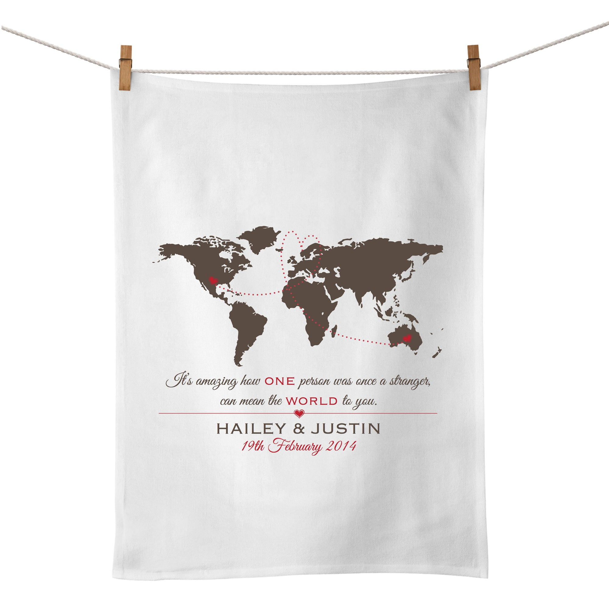 The World Tea Towel