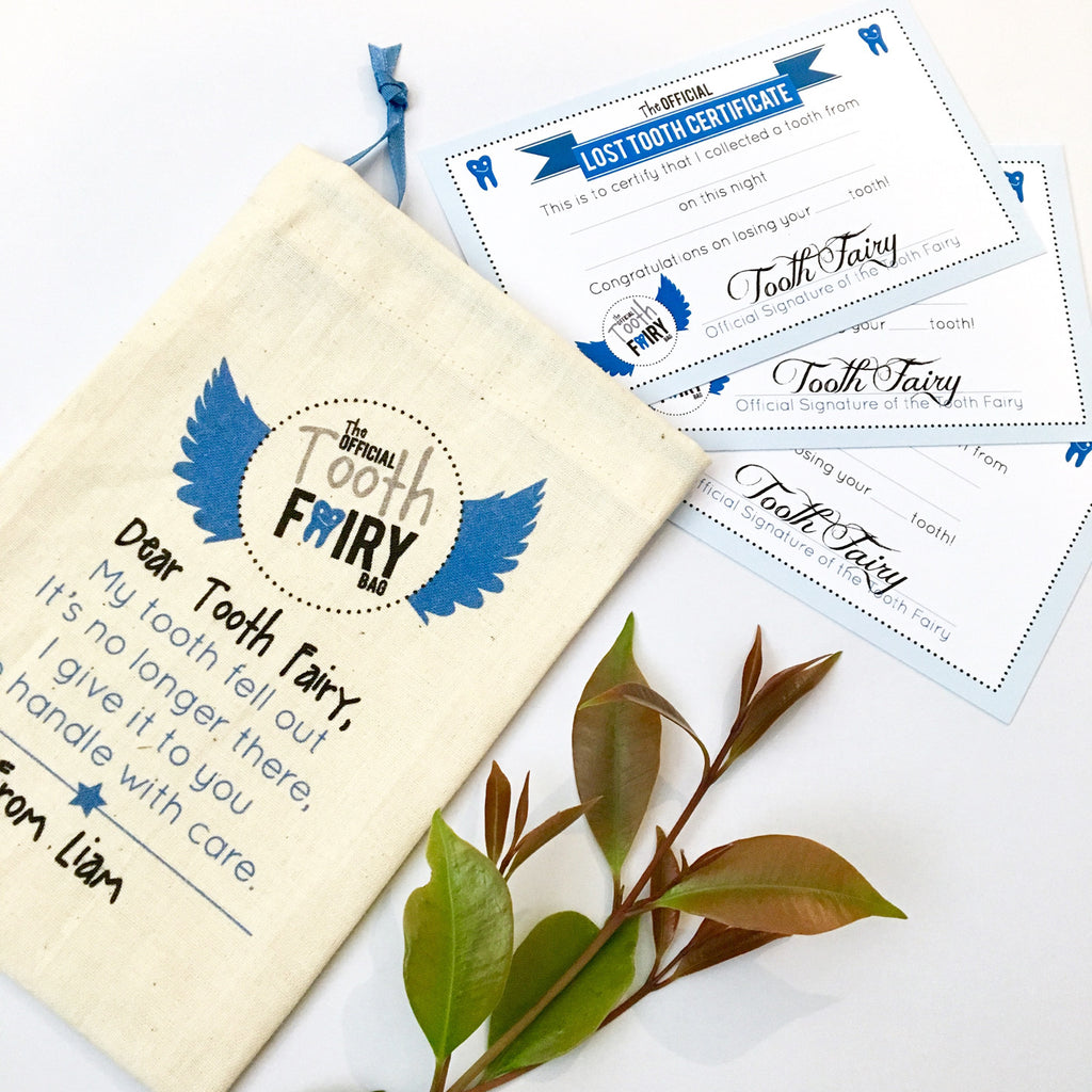 Boys' Personalised Tooth Fairy Kit