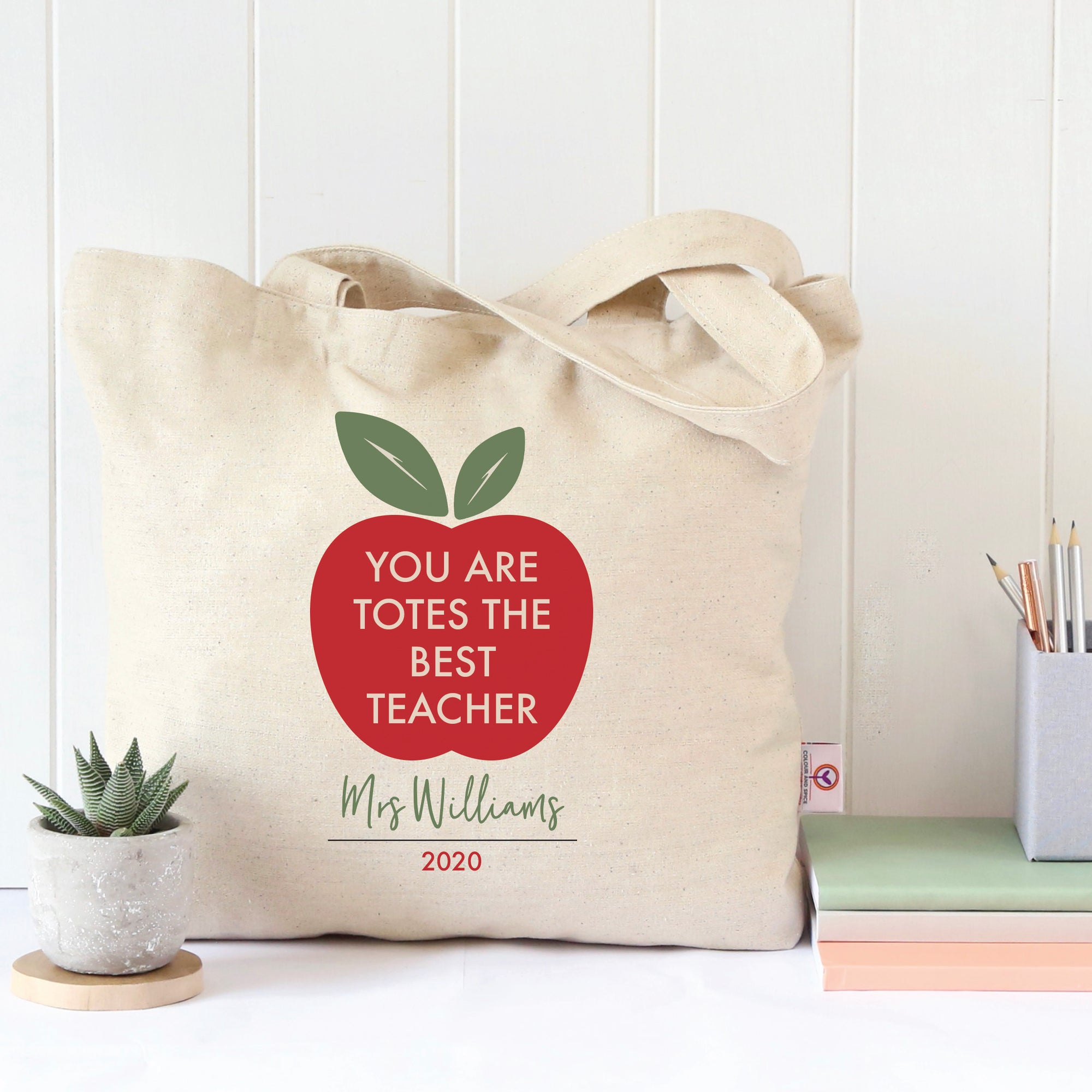 Totes The Best Teacher Tote Bag