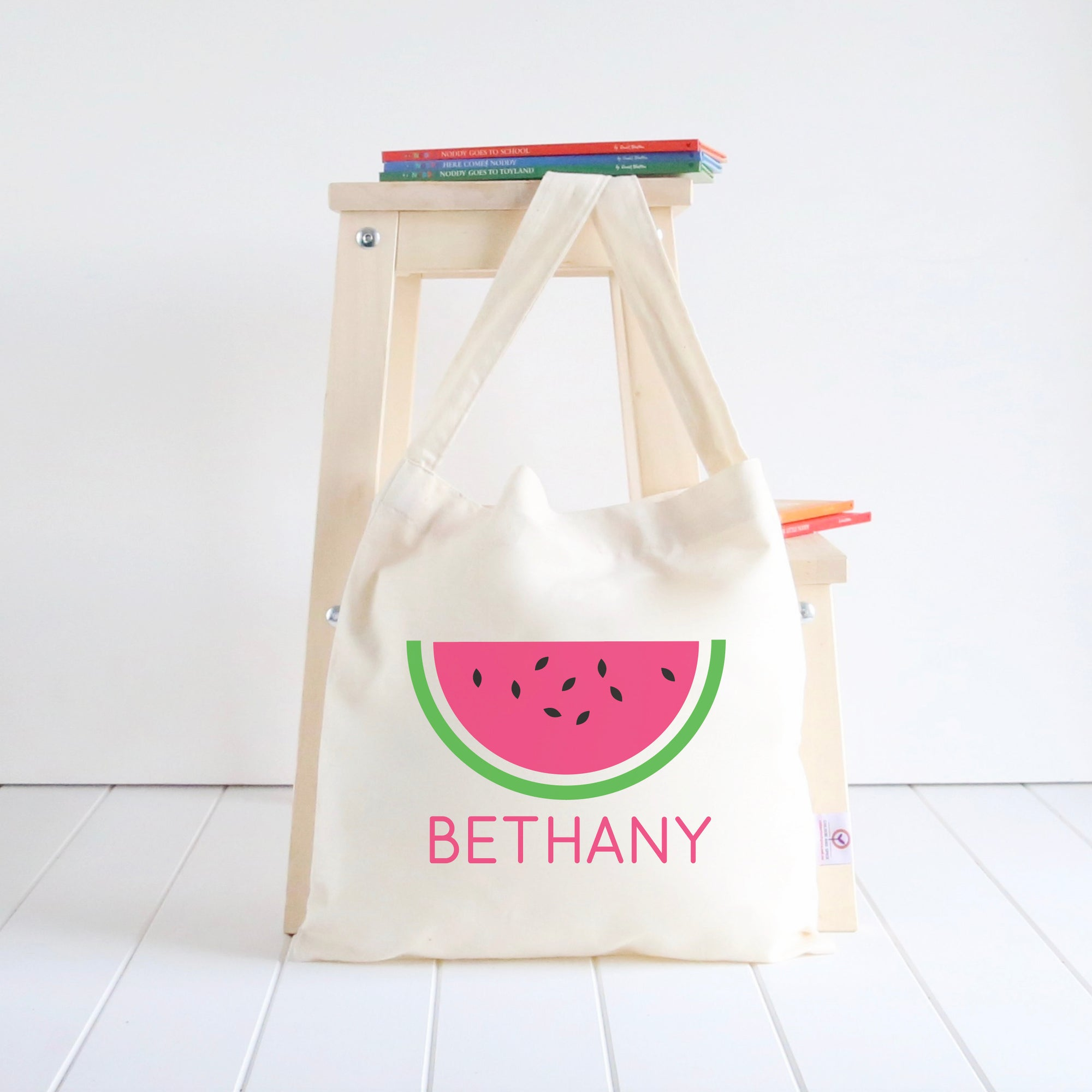 Watermelon Library Bag