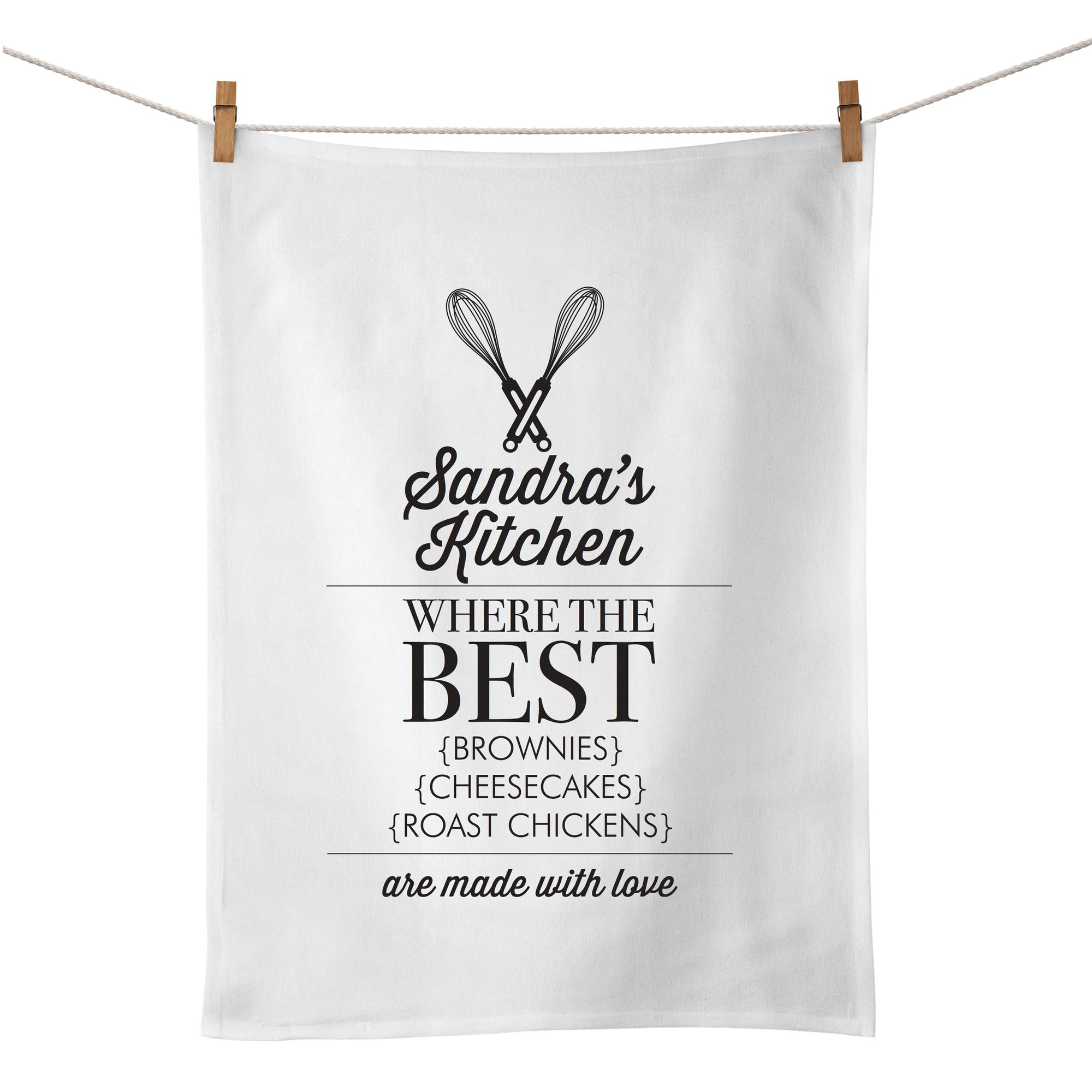Where The Best Food Is Made Tea Towel