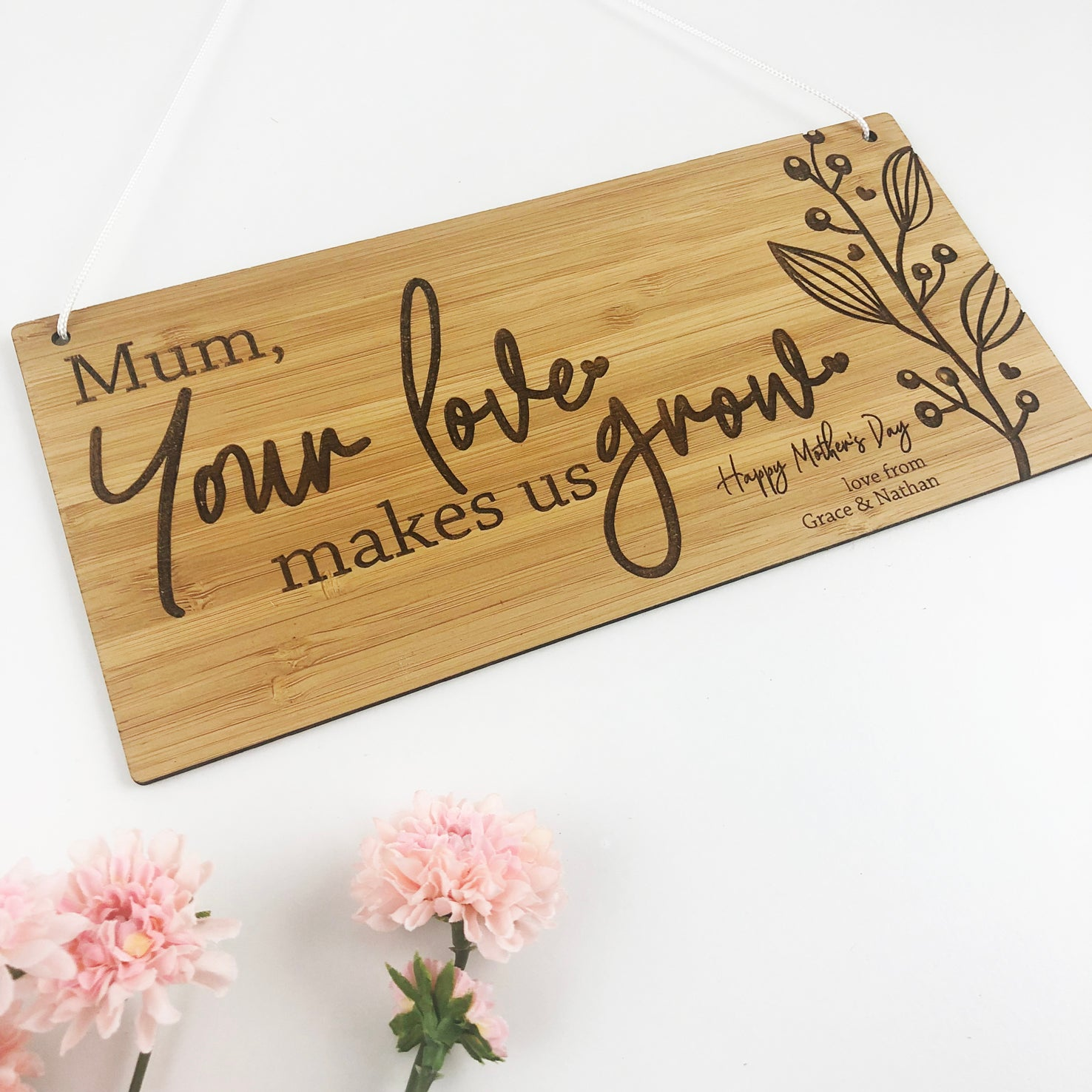 Your Love Makes Us Grow Wall Hanging