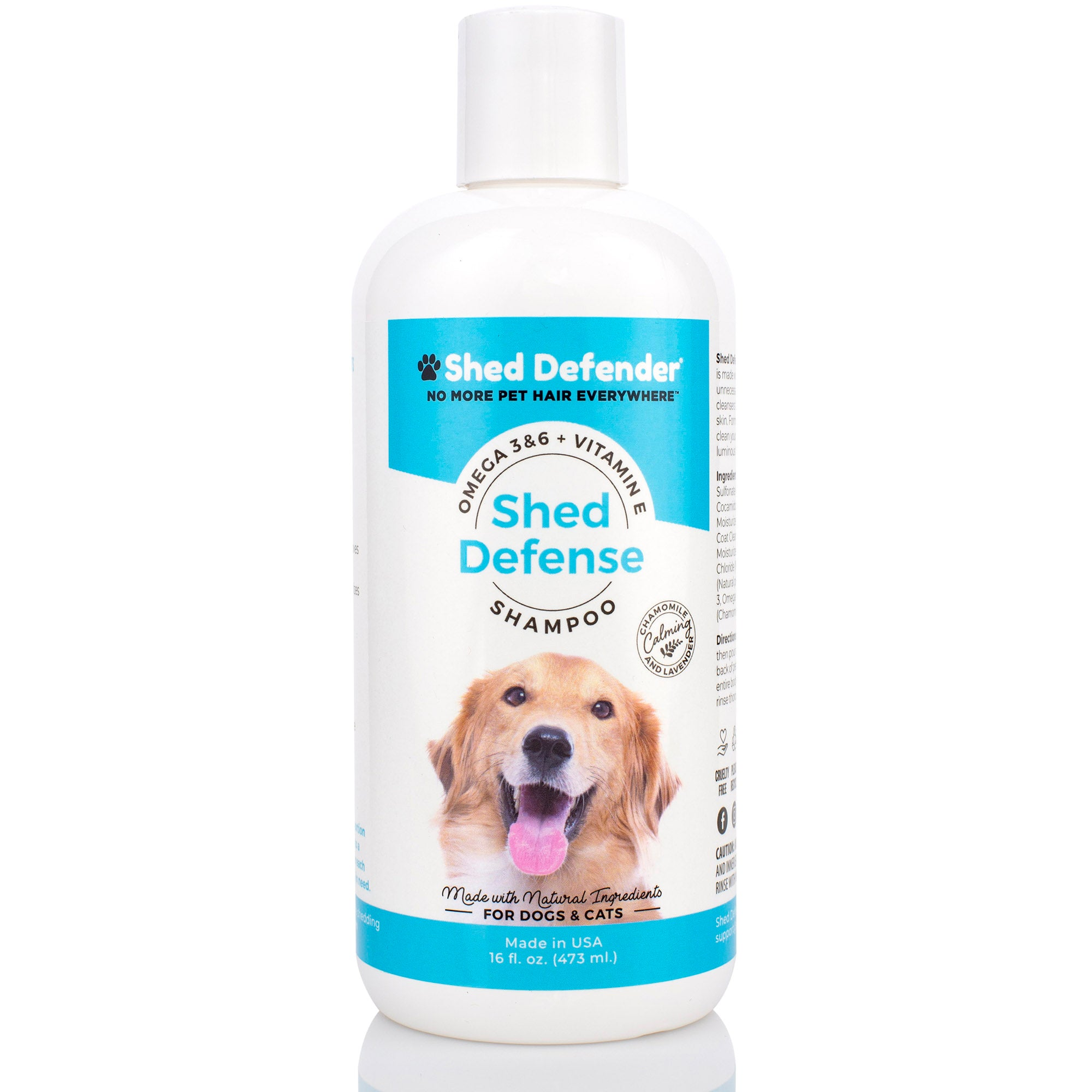 Shed Defense Shampoo - 16 oz.