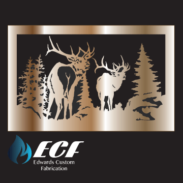 ECF Elk Rail Design - Edwards Custom Fabrication