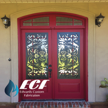 ECF Security Door Covers - Edwards Custom Fabrication
