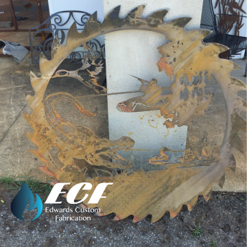 ECF Alligator & Duck Saw Blade - Edwards Custom Fabrication