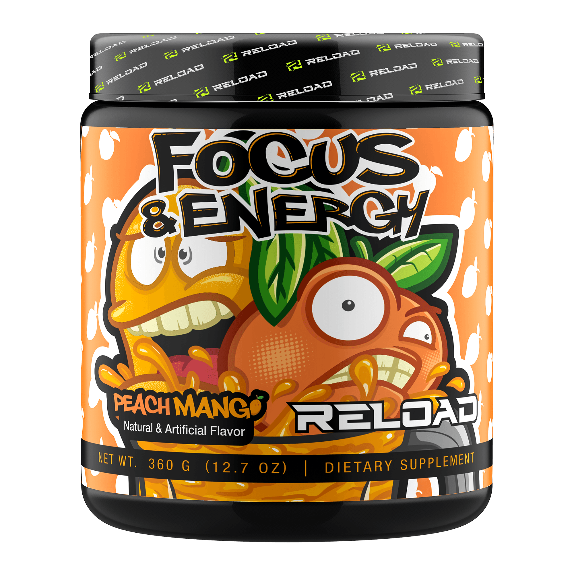 PEACHMANGO - Reload Focus & Energy