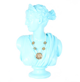 The Karen Gold Coin and Pearl Necklace