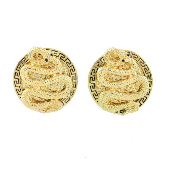 Viper Gold Earrings