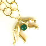 Wallis Simpson Panther Necklace