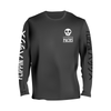 Flippin Packs Core Logo Long Sleeve T-Shirt (Black & White)