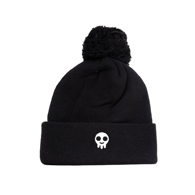 Flippin Packs Pom Beanie (Black)