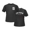 Kernel Stay Poppin' T-Shirt (Black)