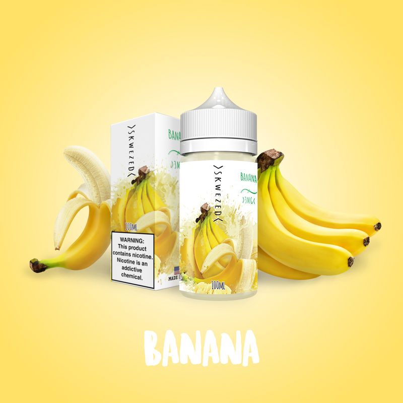 100ml - Skwezed - Banana