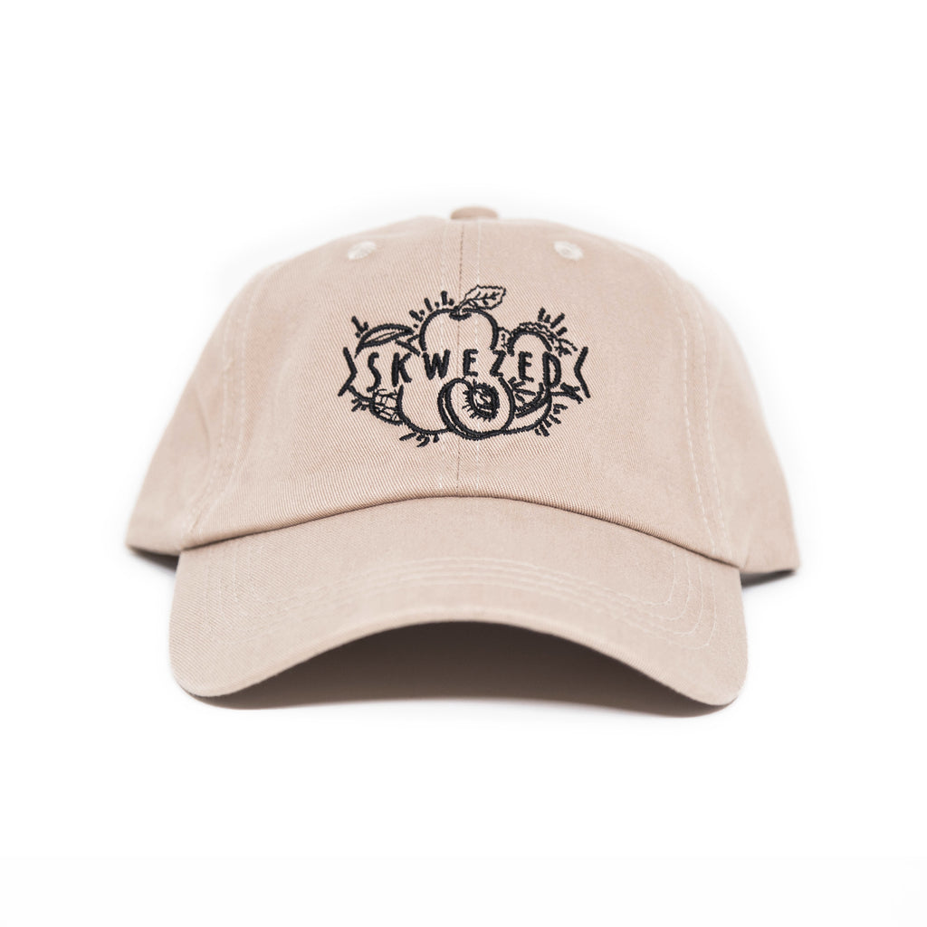 Skwezed Logo Dad Hat (Khaki)