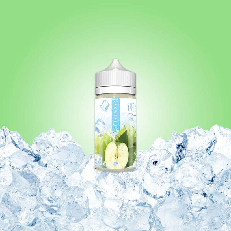 100ml - Skwezed Ice - Green Apple ICE