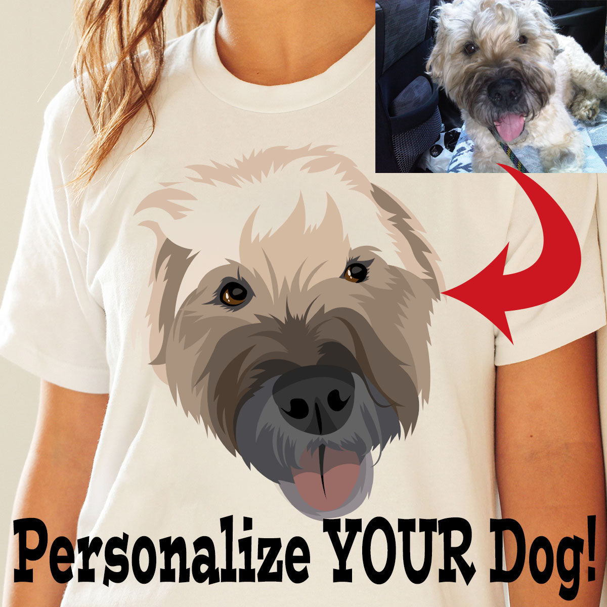 Custom Women's Tank Top Featuring YOUR Dog