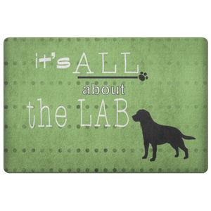 IT'S ALL ABOUT THE LAB