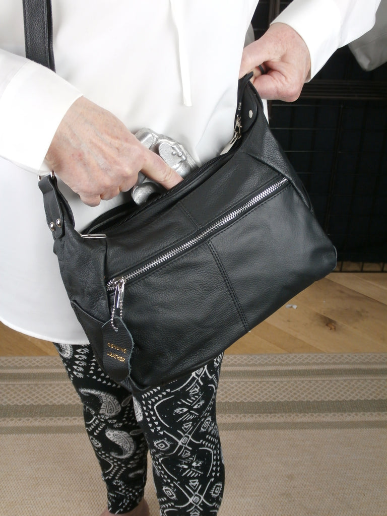 "Camille Conceals ""Cindy""Conceal Carry Cross-Body Purse Draw"