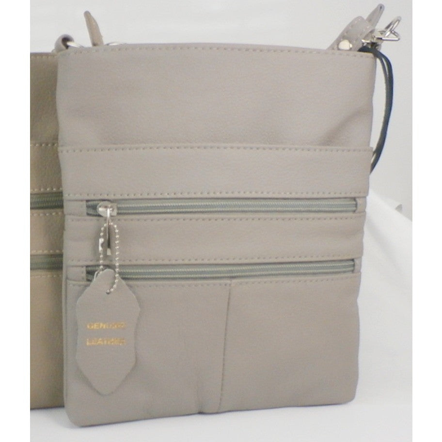 Camille Conceals Cosmo Gray Concealed Carry Bag