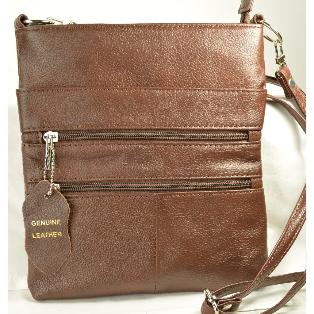 Camille Conceals Cosmo Brown Concealed Carry Bag