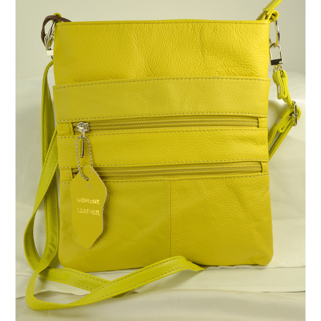 Camille Conceals Cosmo Yellow Concealed Carry Bag