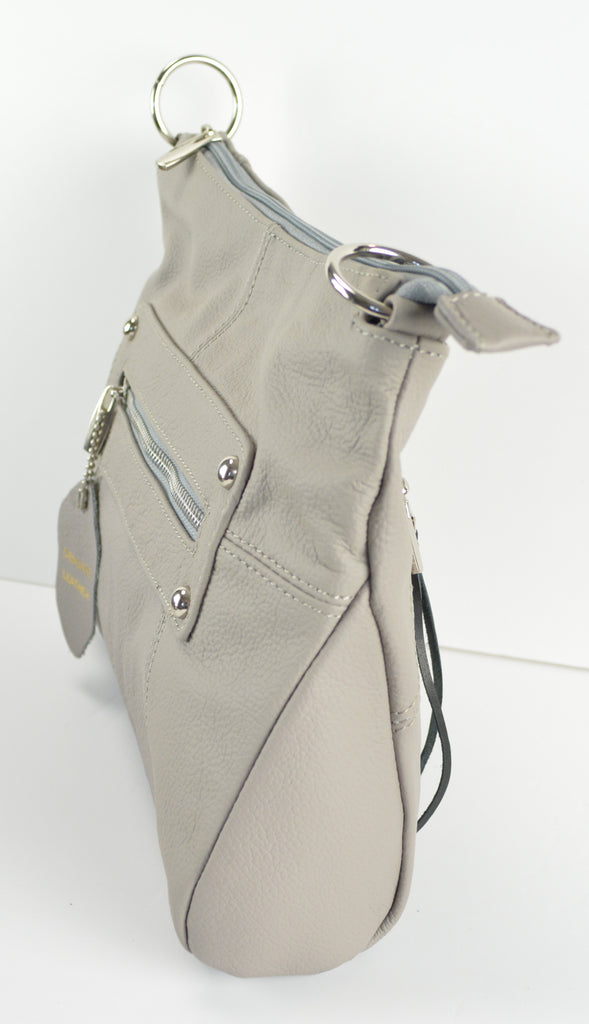 "Camille Conceals ""Christy"" - Genuine Leather Conceal Carry Cross-Body Purse - Ambidextrous"
