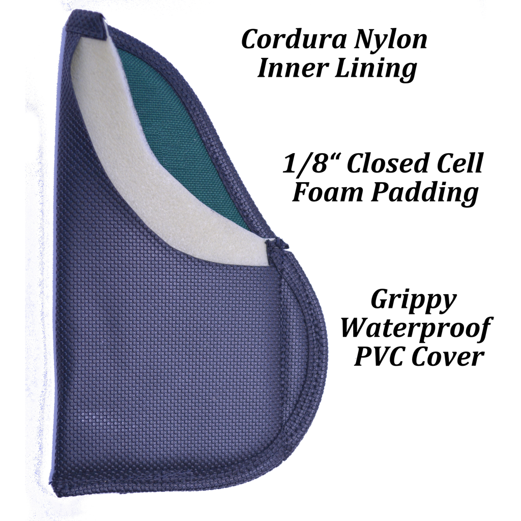 Grip Hugger - Clipless Inside Waistband Holster -  Use With or Without a Belt!