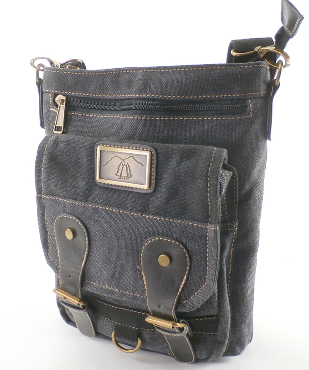 "Camille Conceals ""Windom""  - Canvas Concealed Carry Bag - Top Draw™ Holster - Loads of Features"