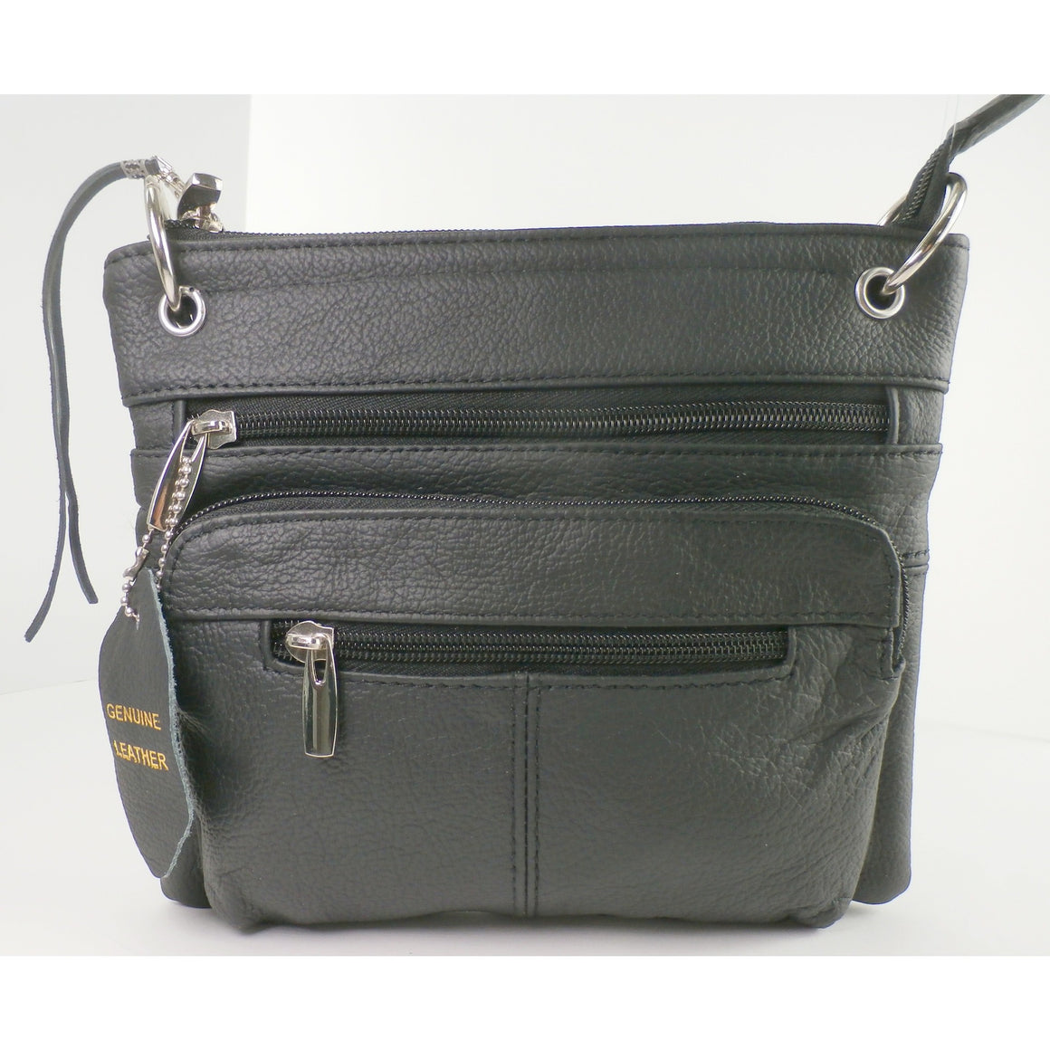 "Candi - A Genuine Leather Concealed ""Medium Minimalist"" Carry Bag -  Wear, Carry or Drop in your Purse or Tote"