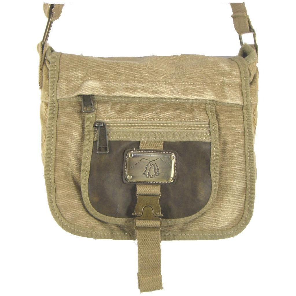 Camille Conceals Sand Washed Canvas Concealed Carry Bag